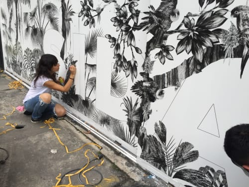 Tatiana Arocha - Paintings and Street Murals