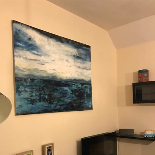 Paintings by Suzy Moger seen at Private Residence - Commissioned Painting