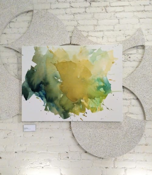 Paintings by EH Sherman seen at Miss Kim, Ann Arbor - Straylight