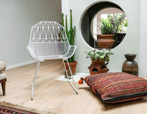 Chairs by Bend Goods seen at Creator's Studio, Los Angeles - Farmhouse Lounge