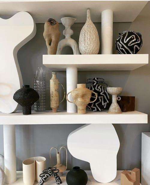 Sculptures by Talia DesignerMaker seen at Modern Art Hire, London - gazelle vase
