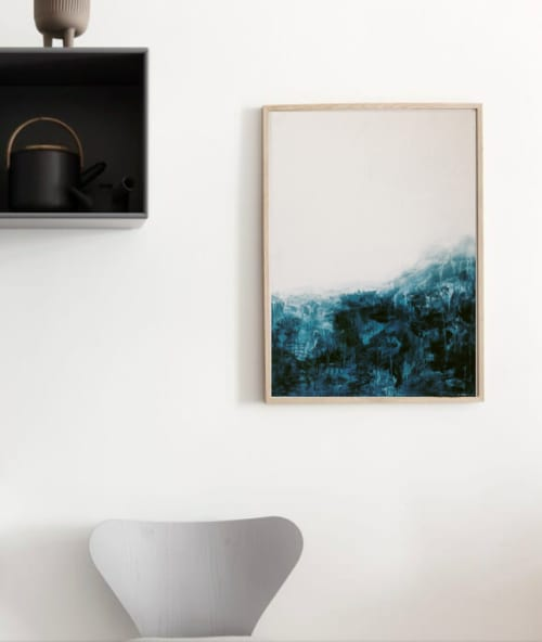 Wall Hangings by Emily Tingey - Neptune Print