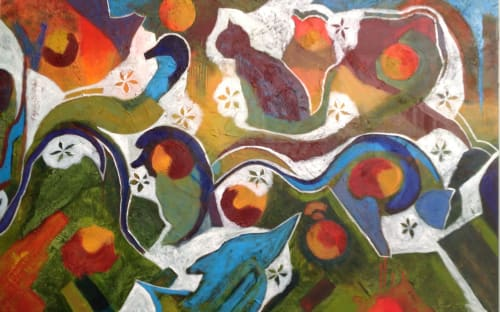 Paintings by Kathy Best Art seen at Melbourne, Melbourne - Creatures