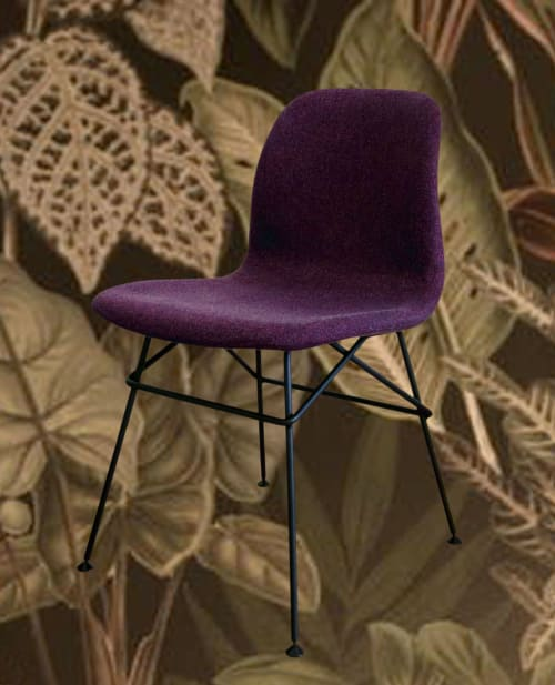 Chairs by Marc Th. van der Voorn seen at 't Fnidsen, Alkmaar - Wire chair