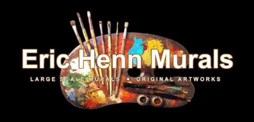 Eric Henn - Street Murals and Murals