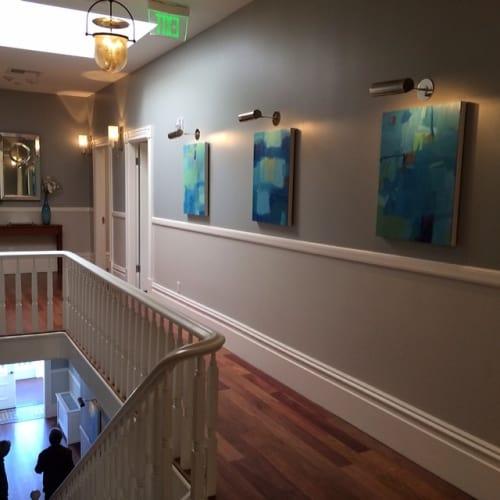 Paintings by Sharon Paster at Casa Madrona Hotel & Spa, Sausalito - Abstract Paintings