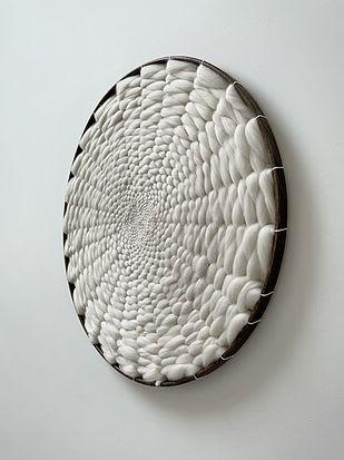 Minimalist Kloud fos (cloud wall) XL   Wall Hangings by Elle Collins
