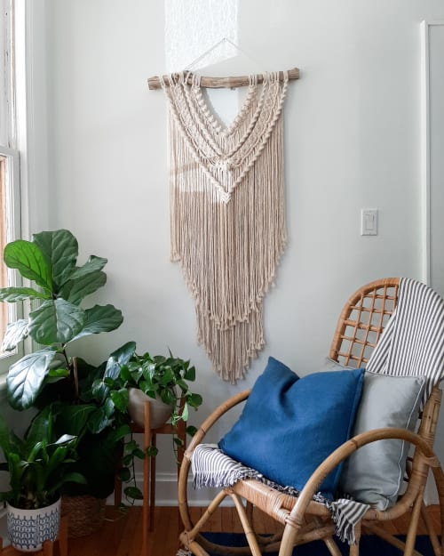 Macrame Wall Hanging by Macrame by JM seen at Private Residence, Hamilton - Sophia
