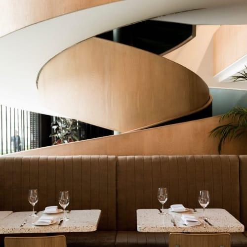 Interior Design by Andrés Mier y Terán seen at Cocina Abierta Artz Pedregal, Ciudad de México - Interior Design