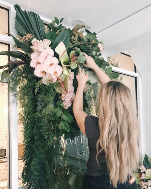 Plants & Flowers by East Olivia by Kelsea Olivia Gaynor seen at Chillhouse, New York - Floral Arrangement