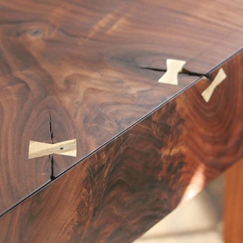 Tables by Porush Woodworking seen at Private Residence, Williamsburg - Walnut End Table