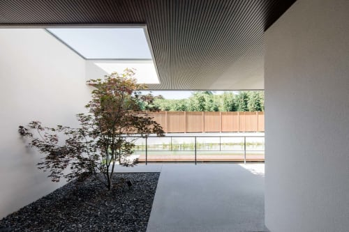 Interior Design by destilat Design Studio GmbH seen at Private Residence, Kirchberg am Wagram - Gut Wagram Bathhouse