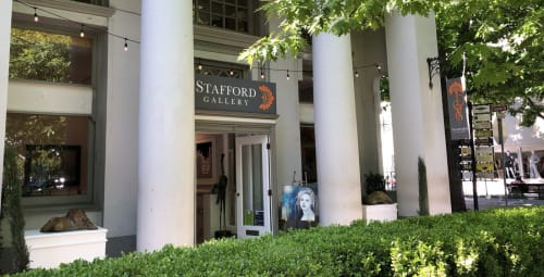 Christina Stafford of Stafford Gallery - Art Curation and Sculptures