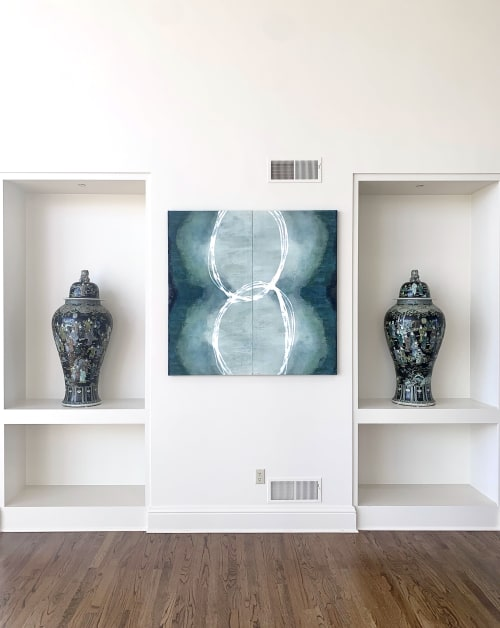 Paintings by Stacey Warnix Studio seen at Private Residence, Belle Vernon - Ad Inifinitum