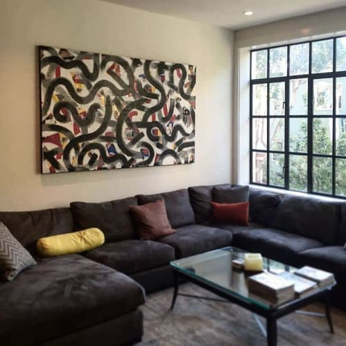Paintings by Elliott C Nathan seen at Private Residence, San Francisco - Commissioned painting