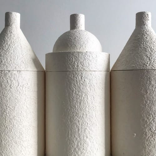Vases & Vessels by Natascha Madeiski seen at Villa Tusci - Moth To A Flame
