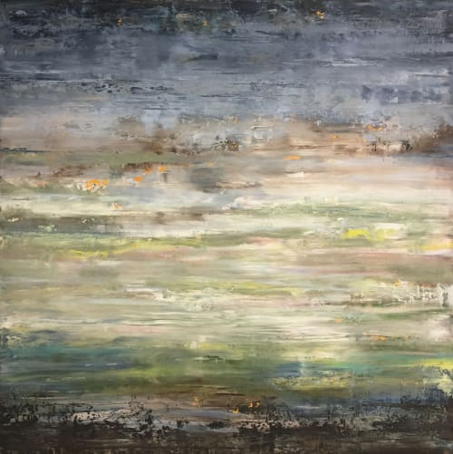 Paintings by Stephanie Thwaites seen at Ruby LivingDesign, Mill Valley - Shimmering Calm