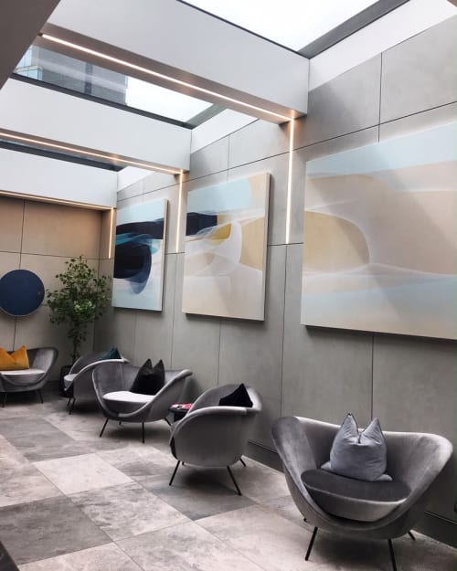 Paintings by Agneta Ekholm seen at Novotel Melbourne South Wharf, South Wharf - Occurrance 2018
