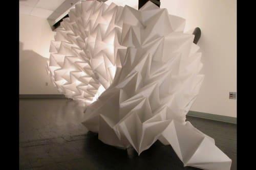 Sculptures by Alyson Piskorowski seen at Sand Point Gallery, School of Art + Art History + Design, University of Washington, Seattle - Untitled (Folding), 2004