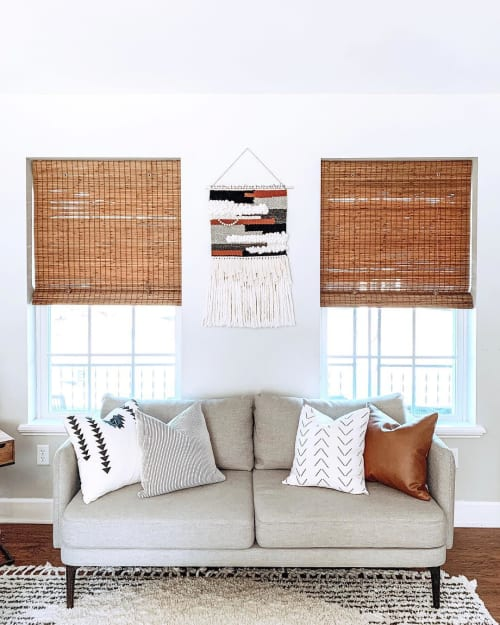 Macrame Wall Hanging by Scout Woven seen at Private Residence, Saratoga Springs - Woven Art