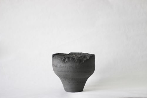 Vases & Vessels by ZHENI seen at Private Residence, London - The Black Dome