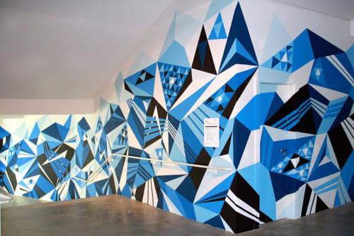 MWM Diamonds. | Murals by MATT W. MOORE | São Paulo Museum of Image and Sound in Jardim Europa