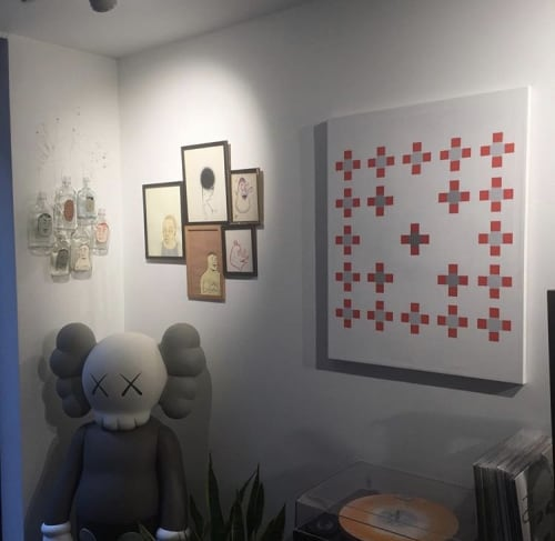 Paintings by Kevin Umaña at Private Residence, Brooklyn - A Little Closer