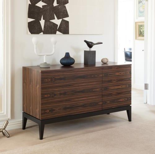 Furniture by Martin Gallagher Furniture seen at Private Residence, Sligo - Macassar Ebony Sideboard