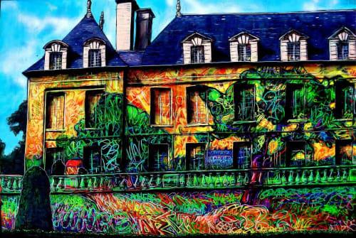 Arnaud Rabier Nowart - Street Murals and Paintings