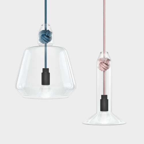 Pendants by Vitamin seen at Vitamin Living Studio, London - Vitamin Large Knot Pendant Lamp