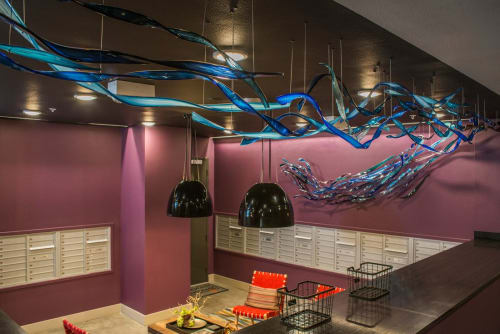 Sculptures by Carlyn Ray Designs seen at Apex Design District, Dallas - Riveredge