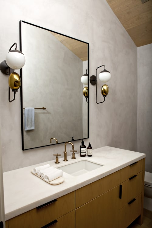 Sconces by Cedar & Moss at Private Residence, Los Angeles - Wall Candy Sconce