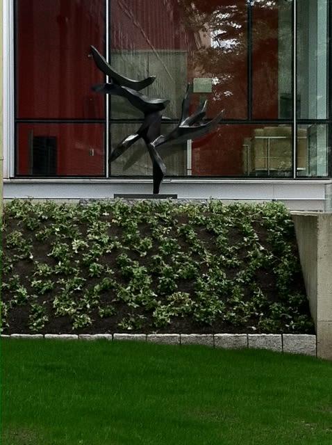 Public Sculptures by Hedva Ser seen at Harvard University, Cambridge - Tree of Peace