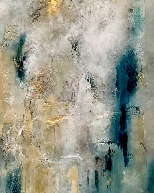 Paintings by Ginger Thomas Studios seen at Private Residence, Flowood - Epiphany - Acrylic Painting