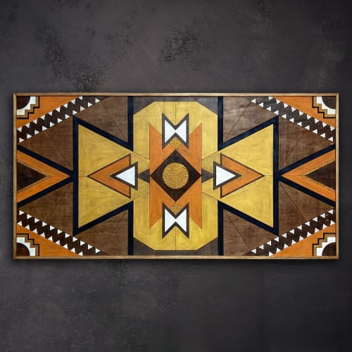''Xanthos'' Wood Wall Art   Wall Hangings by Skal Collective