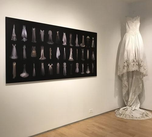 Paintings by ELYSE DEFOOR seen at Gallery 72, Atlanta - Unbridled (Installation View)