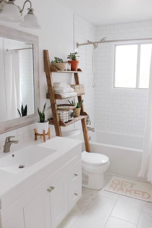 Furniture by Cutler Kitchen & Bath seen at Chantelle Lourens' Home - Bathroom Vanity
