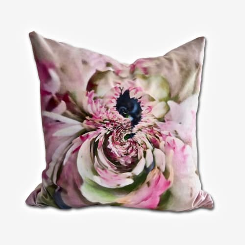 "Pillows by Joanie Landau seen at Grace's House, Plainfield, NJ, Plainfield - ""Malibu"" - JLD 59"