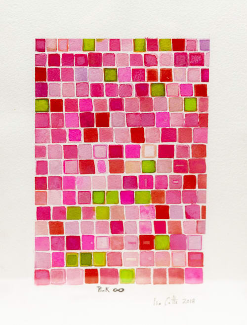 Paintings by ISA CATTO STUDIO - Pink ∞