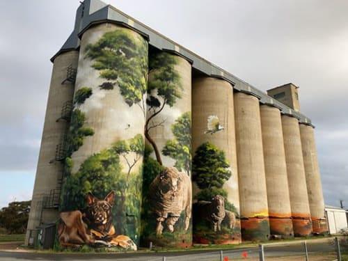 Heesco - Murals and Street Murals
