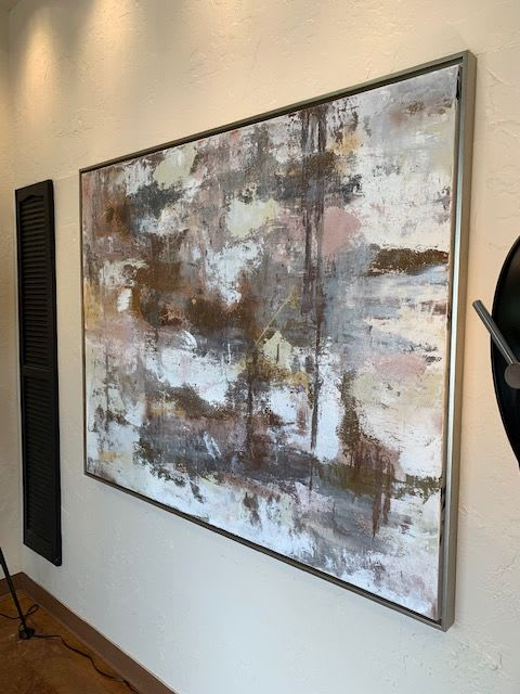 Paintings by Ben Fluno Art seen at Art Gallery Pure, Dallas - Summer Storm