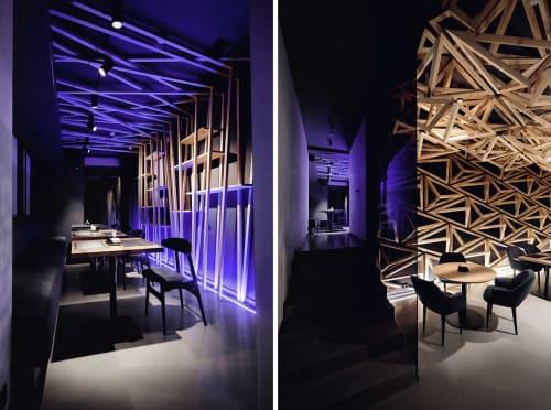 Interior Design by DA bureau seen at KIDO, Sankt-Peterburg - KIDO