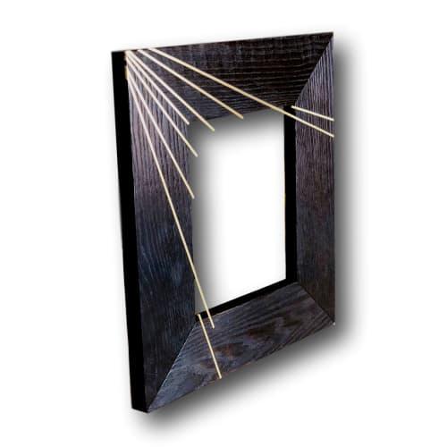 Shou sugi ban frame   Art & Wall Decor by Mako Woods