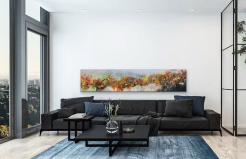 Paintings by Darlene Watson seen at Private Residence, Caledon - The Ridge