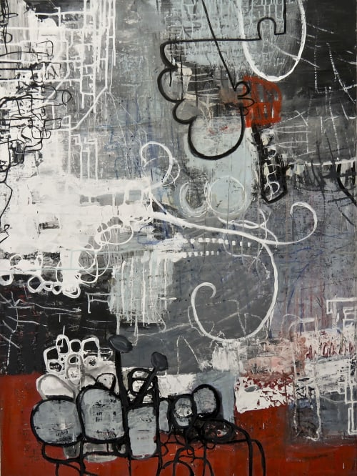 Paintings by Beverly Kedzior Fine Art seen at Private Residence | Chicago, IL, Chicago - Quick And Tricky