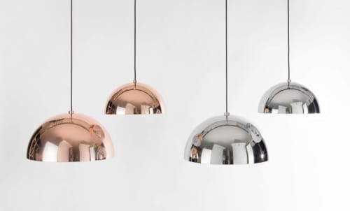Pendants by SEED Design USA seen at 858 Lind Ave SW, Renton - DOME Pendant M / L
