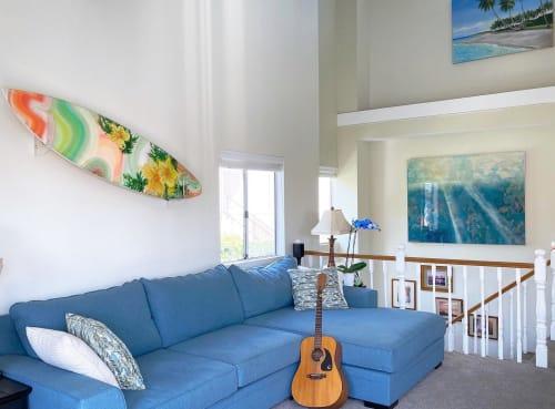 Paintings by Amanda M Moody seen at Private Residence, Redondo Beach - arcadia