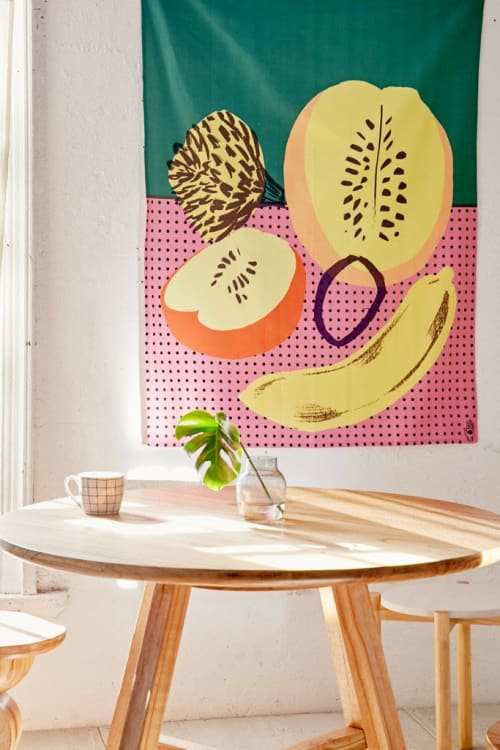 Wall Hangings by Elena Boils seen at Private Residence, London - Tapestry