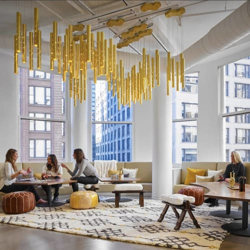 Pendants by ILANEL Design Studio seen at Centro, Chicago - Rain Chandeliers