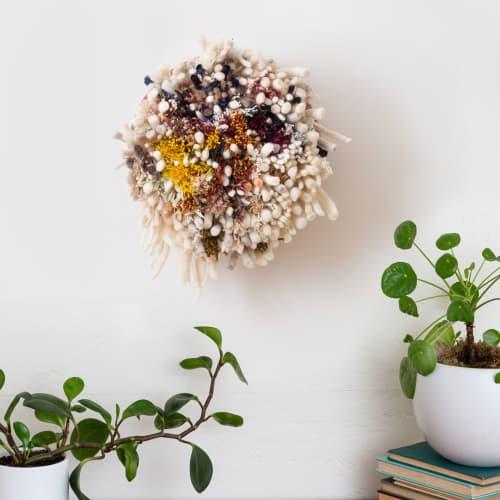 Flokati | Wall Hangings by Keyaiira | leather + fiber